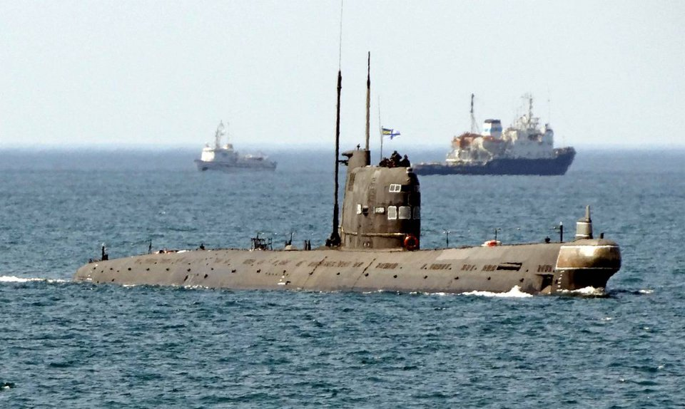 "Последний рейд подводной лодки ""Запорожье"""