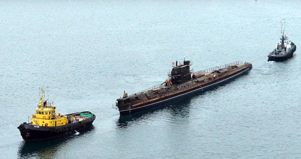 """Подводная лодка """"Запорожье"""""""