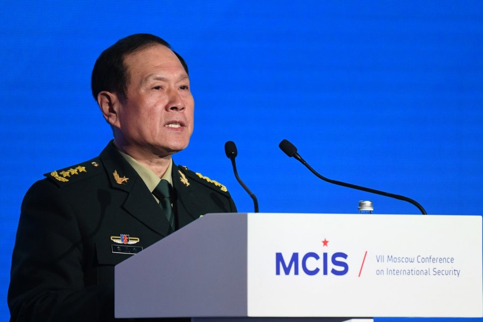Министр обороны КНР Вэй Фэнхэ