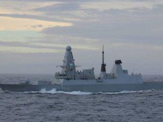HMS Defender военно-морского флота Великобритании